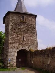 Château d'Airvault -  Tour-porte du château d'Airvault