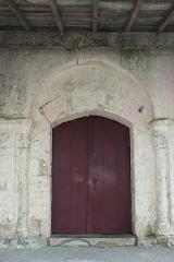 Eglise paroissiale Saint-Grégoire - Deutsch:   Katholische Kirche Saint-Grégoire in Augé im Département Deux-Sèvres (Nouvelle-Aquitaine/Frankreich), Portal