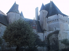 Château - English: Cherveux castle, intrériour view