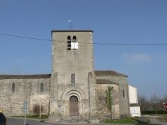 Eglise Saint-Martin - Français:   Vue de l\'église de Glénay Coté Sud.
