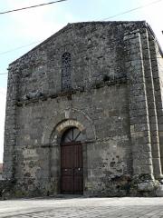 Eglise Saint-Martin - Français:   Eglise Saint Martin de Glénay Entrée Ouest datant du XIe