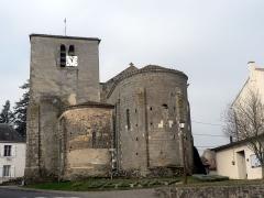 Eglise Saint-Martin - Français:   Vue de l\'église Saint Martin de Glénay Coté Est.