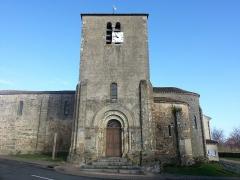 Eglise Saint-Martin - Français:   Façade Sud de l\'Eglise St Martin de Glénay.