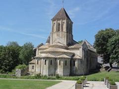 Eglise Saint-Hilaire - Église Saint-Hilaire de Melle, chevet