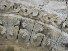 Restes de l'ancienne église Notre-Dame-de-la-Couldre - Français:   Façade de l\'église Notre-Dame-de-la-Couldre à Parthenay (79). Détail. Travée droite.