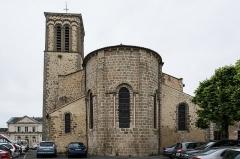 Eglise Sainte-Croix - Le chevet
