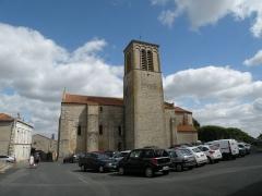 Eglise Sainte-Croix -  Église Sainte-Croix de Parthenay