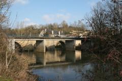 Pont sur le Thouet -  Saint Généroux