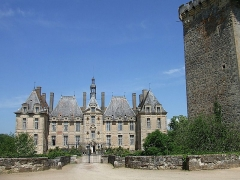Domaine de Saint-Loup - Français:   Château de Saint-Loup Lamairé