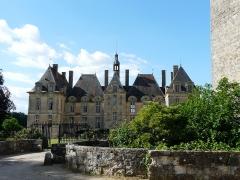Domaine de Saint-Loup - Français:   Le château de Saint-Loup-sur-Thouet, Saint-Loup-Lamairé, Deux-Sèvres, France