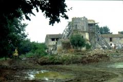 Château - Français:   Vue du sud-est, fouilles archéologiques et restauration en 2005