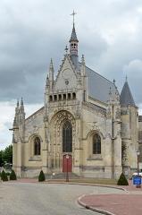 Château - Français:   Collégiale Notre-Dame du château de Thouars - Thouars (Deux-Sèvres)
