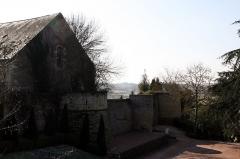Restes des anciens remparts -  Rempart du parc floral de Thouars