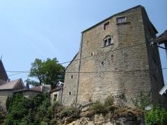 Château de Jouffroy-d'Abbans - Deutsch: Schloss, Donjon (Bergfried) aus dem 12. Jhdt.