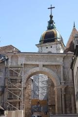 Cathédrale Saint-Jean et Saint-Etienne - Porte Noire à Besançon.