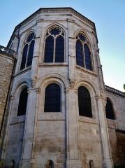 Cathédrale Saint-Jean et Saint-Etienne - Deutsch: Ostchor der Kathedrale St. Johannes, Besancon, Département Doubs, Region Frache-Comté (heute Burgund-Franche-Comté), Frankreich