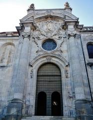 Cathédrale Saint-Jean et Saint-Etienne - Deutsch: Portal der Kathedrale St. Johannes, Besancon, Département Doubs, Region Frache-Comté (heute Burgund-Franche-Comté), Frankreich