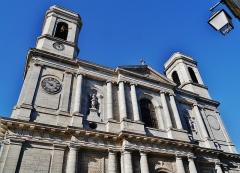 Eglise de la Madeleine - Deutsch: Fassade von Ste. Madeleine, Besancon, Département Doubs, Region Frache-Comté (heute Burgund-Franche-Comté), Frankreich