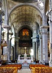 Eglise de la Madeleine - Deutsch: Chor von Ste. Madeleine, Besancon, Département Doubs, Region Frache-Comté (heute Burgund-Franche-Comté), Frankreich