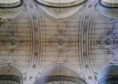 Eglise de la Madeleine - Deutsch: Gewölbe von Ste. Madeleine, Besancon, Département Doubs, Region Frache-Comté (heute Burgund-Franche-Comté), Frankreich