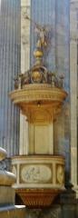 Eglise de la Madeleine - Deutsch: Kanzel von Ste. Madeleine, Besancon, Département Doubs, Region Frache-Comté (heute Burgund-Franche-Comté), Frankreich