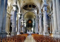 Eglise de la Madeleine - Deutsch: Langhaus von Ste. Madeleine, Besancon, Département Doubs, Region Frache-Comté (heute Burgund-Franche-Comté), Frankreich