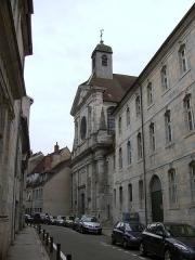 Ancien collège des Jésuites, collège Victor-Hugo-Centre - English: Church of Saint François Xavier located in the center of Besançon (Doubs, France)