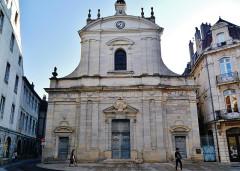 Eglise Saint-Maurice - Deutsch: Fassade von St. Maurice, Besancon, Département Doubs, Region Frache-Comté (heute Burgund-Franche-Comté), Frankreich