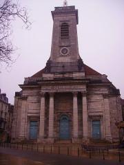 Eglise Saint-Pierre - Deutsch: Fassade von St. Pierre, Besancon