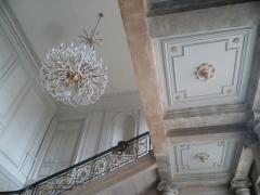 Ancienne Intendance de Franche-Comté, actuellement Hôtel de la Préfecture du Doubs - Français:   Escalier d\'honneur de l\'ancienne intendance de Franche-Comté, actuelle préfecture.