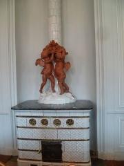 Ancienne Intendance de Franche-Comté, actuellement Hôtel de la Préfecture du Doubs - Français:   Poêle de la salle à manger de  l\'ancienne intendance de Franche-Comté, et actuelle préfecture.