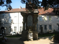 Jardin public -  Square Castan Besançon 1