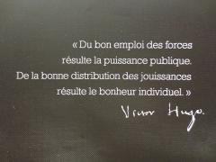 Maison natale de Victor Hugo - Français:   Citation de Victor Hugo, maison natale de Victor Hugo de Besançon