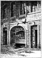 Maison natale de Victor Hugo - Français:   Maison_natale_de_Hugo_dessin_de_Gaston_Coindre