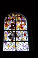 Eglise -  Bleiglasfenster in der Pfarrkirche Saint-Étienne in Boussières