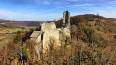 Château de Scey (également sur commune de Cléron) - Français:   Château de Scey