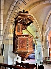 Eglise - Français:   Chaire de l\'église de Chaux-Neuve.Doubs