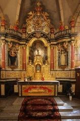 Eglise - Français:   Intérieur de l\'église de Chaux-Neuve (Doubs).