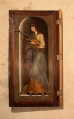 Eglise - Français:   Tableau de style flamand à l\'intérieur de l\'église de Chaux-Neuve (Doubs).