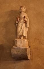 Eglise - Français:   Statue de Saint-Pierre à l\'intérieur de l\'église de Chaux-Neuve (Doubs).