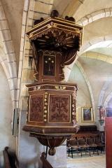 Eglise - Français:   Chaire dans l\'église de Chaux-Neuve (Doubs).