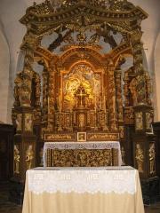 Eglise - Français:   Ciborium de l\'église des Hôpitaux-Neufs (IMH)