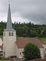 Eglise - Français:   Eglise des Hôpitaux-Neufs datant de 1694