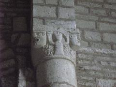 Eglise Saint-Maurice -  Jougne, chapelle Saint-Maurice de La Ferrière, chapiteau de la chapelle