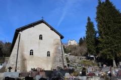 Eglise Saint-Maurice - Français:   Façade de la chapelle.