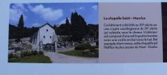 Eglise Saint-Maurice - Français:   Panneau touristique.
