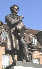 Hôtel de ville - Deutsch: Georges Cuvier-Denkmal in Montbéliard