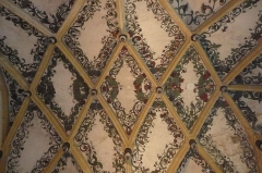 Ancienne abbaye -  Montbenoît: Decke