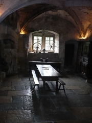 Ancienne abbaye -  Montbenoît: Saal, welcher?