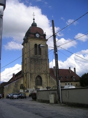 Eglise - Deutsch: Morteau Kirche Außenansicht